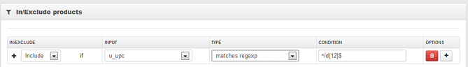 Data Feed Optimization with RegExp